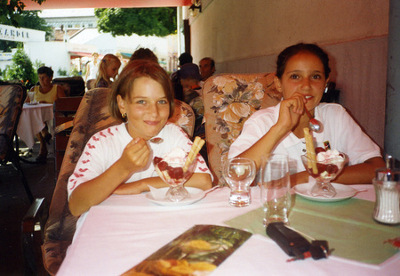 Dominika Cibulkova childhood picture