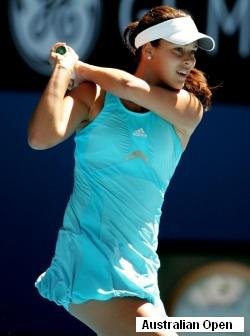 Ana Ivanovic at 2008 Australian Open