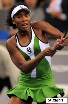 Venus Williams at Porsche Tennis Grand Prix