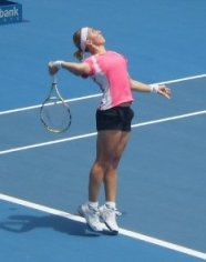 Svetlana Kuznetsova at the Sydney Medibank International