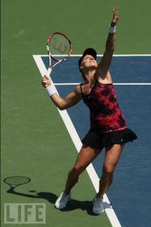 Bethanie Mattek at the 2008 East West Bank Classic