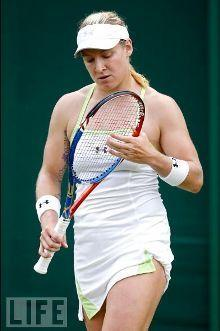 Bethanie Mattek Sands at Wimbledon 2010