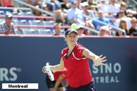 Kim Clijsters at the 2010 Rogers Cup in Montreal