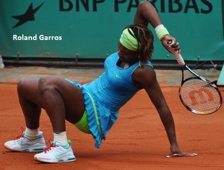 Serena Williams at the 2010 French Open