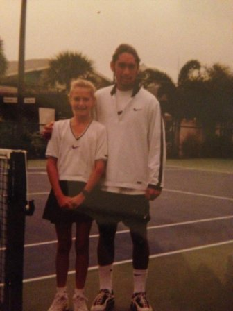 Little Maria Sharapova