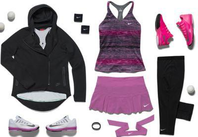 Victoria Azarenka's Nike kit for the 2014 Australian Open