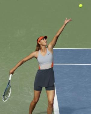 Sharapova US Open 2014 promo photo