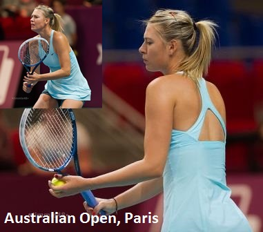 Sharapova's Australian Open 2014 dress