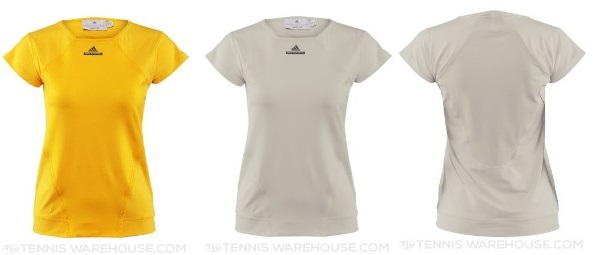 Stella basic top yellow and desert sand