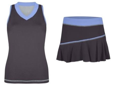 Sofibella tank and skirt - Kaia Kanepi - French Open