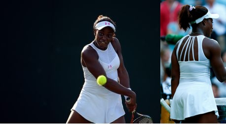 Sloane Stephens - Under Armour - Wimbledon 2015 - dress