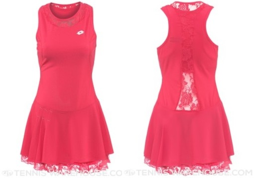 Lotto Victoria Dress for the 2015 US Open - front
