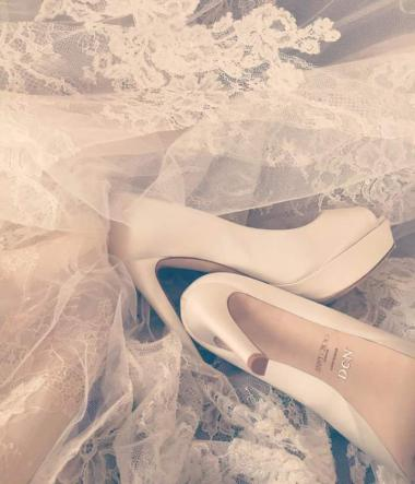Dominika Cibulkova wedding shoes Jimmy Choo