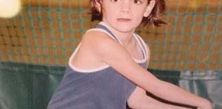 Jennifer Brady childhood tennis photo